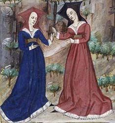 burgundian pair