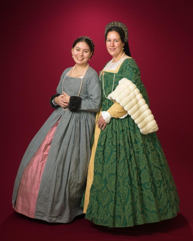Tudor gowns