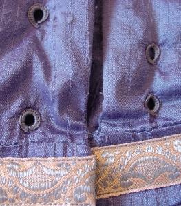 regency blue eyelet detail