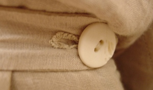 tan regency sleeve detail