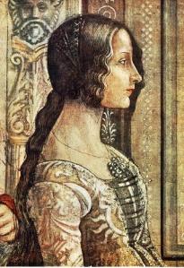 Ludovica Tornabuoni, by Domenico Ghirlandaio