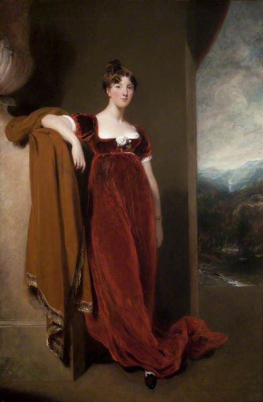 Harriet Anne (1799–1860), Countess of Belfast by Thomas Lawrence