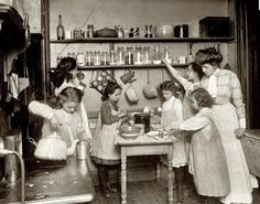 1910s canning lesson