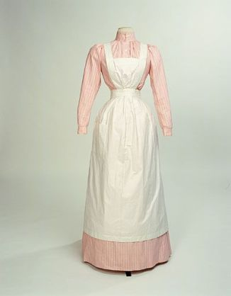 1910 cooks dress and apron