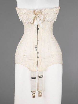 1915-1917 corset at the Met